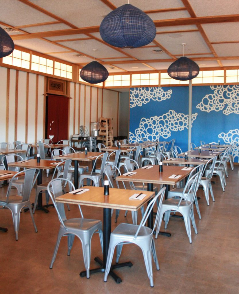 Interior Kome Sushi Kitchen Austin