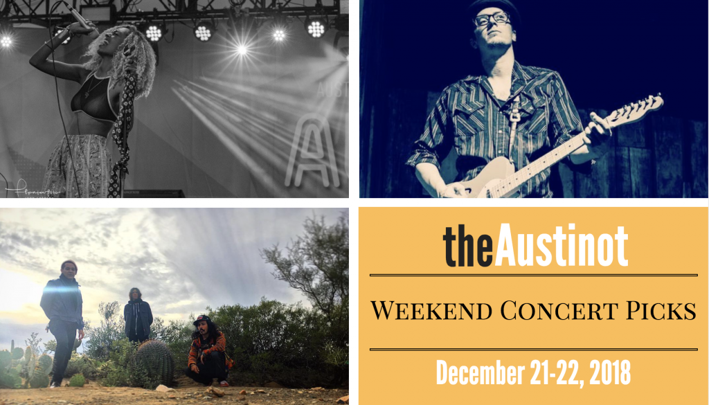 Austinot Weekend Concert Picks Dec 21, 2018