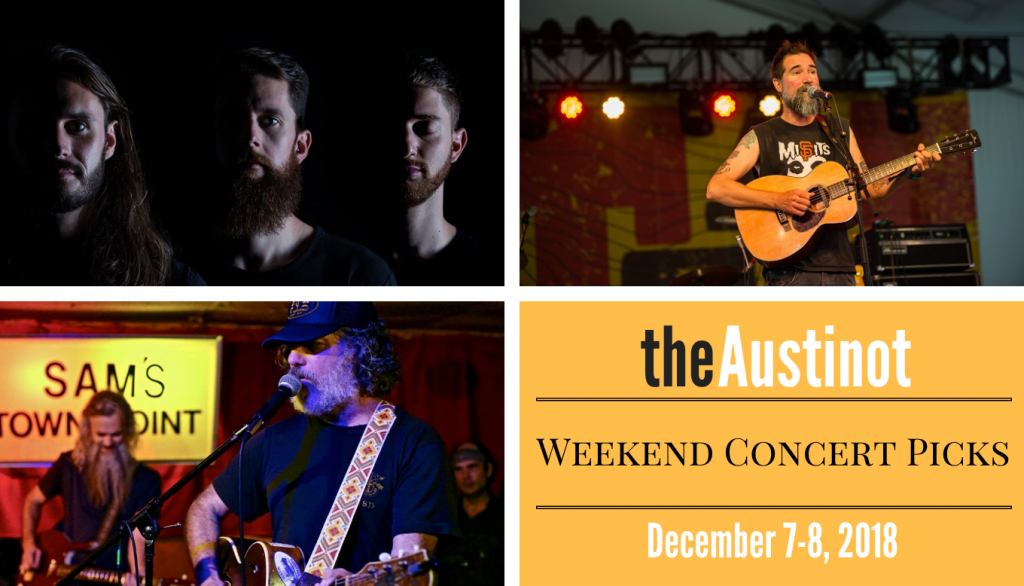 Austinot Weekend Concert Picks Dec 7