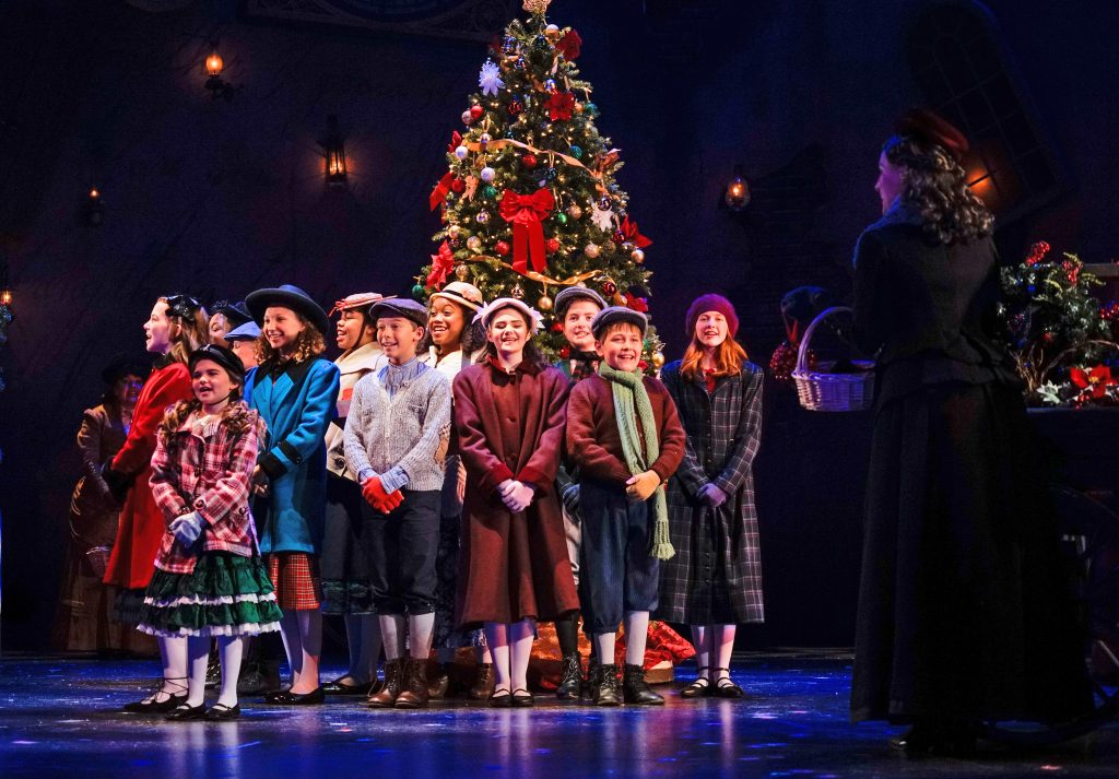 """A Christmas Carol"" at ZACH Theatre in Austin"