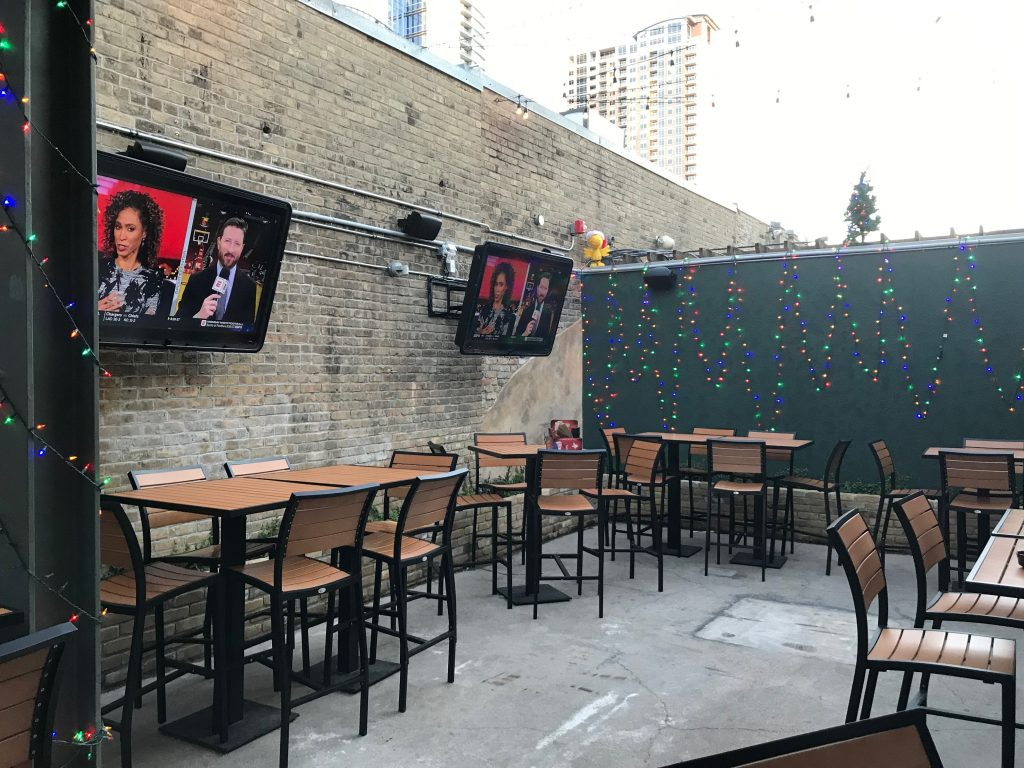 Lavaca Street Bar Outdoor Patio Area