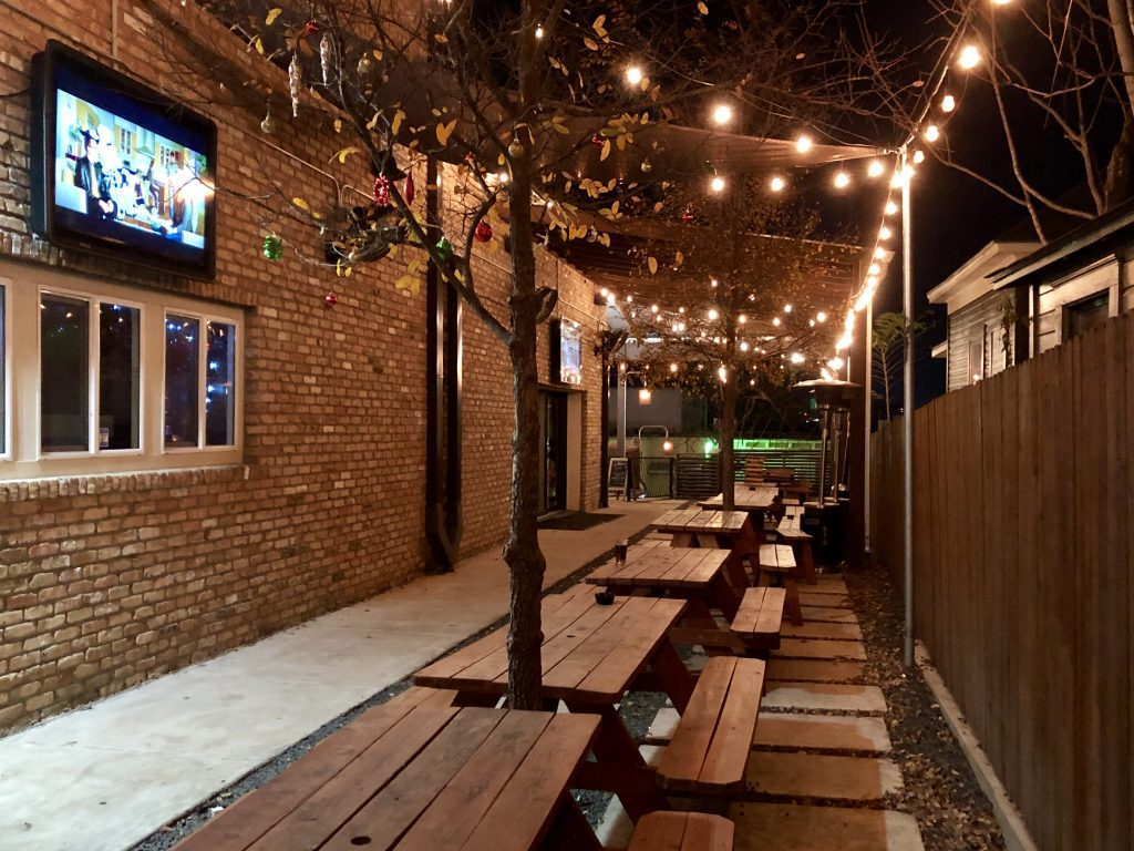 Revelry Kitchen + Bar Outside Patio in East Austin