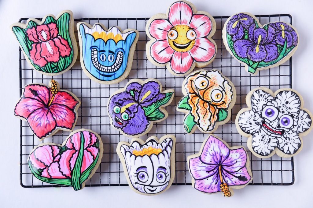 Specialty cookies by Briks and Scorpion Bakehouse