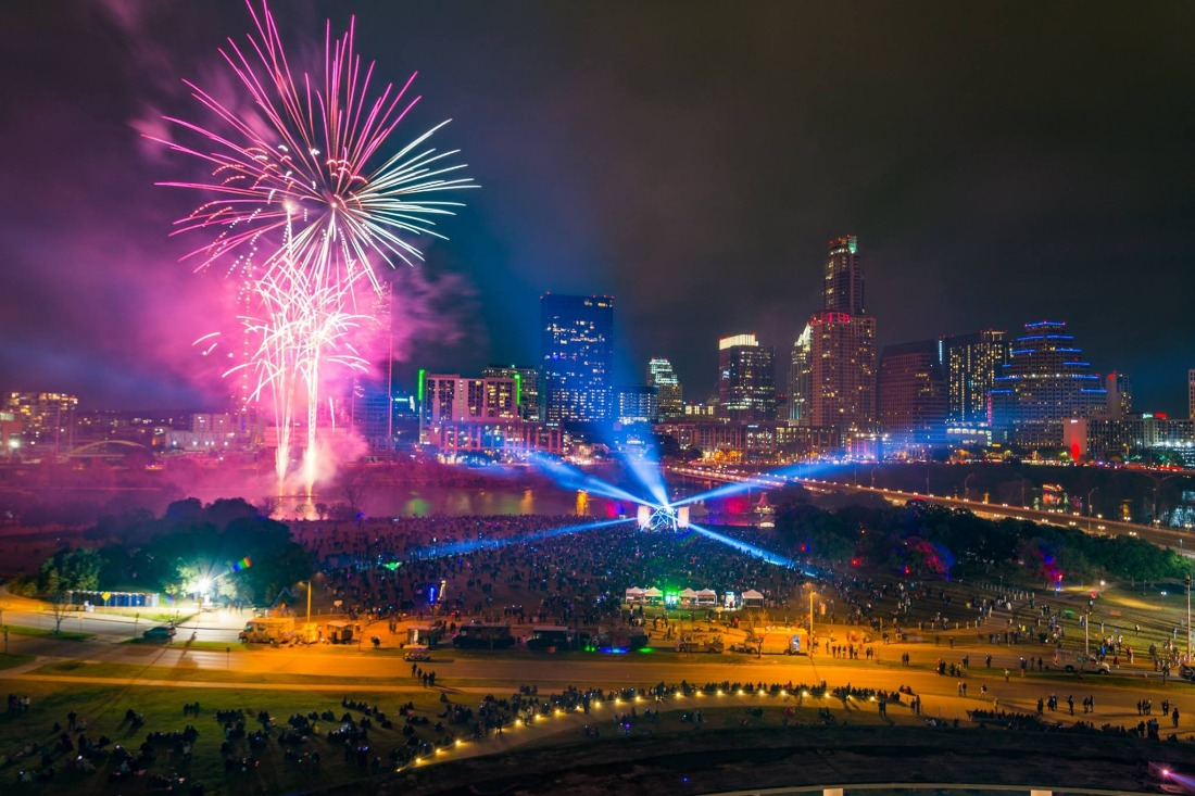 Austin's New Year's Eve at Auditorium Shores
