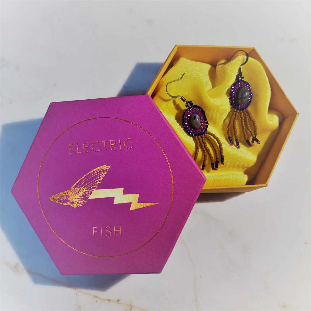 Electric Fish Jewelry earrings