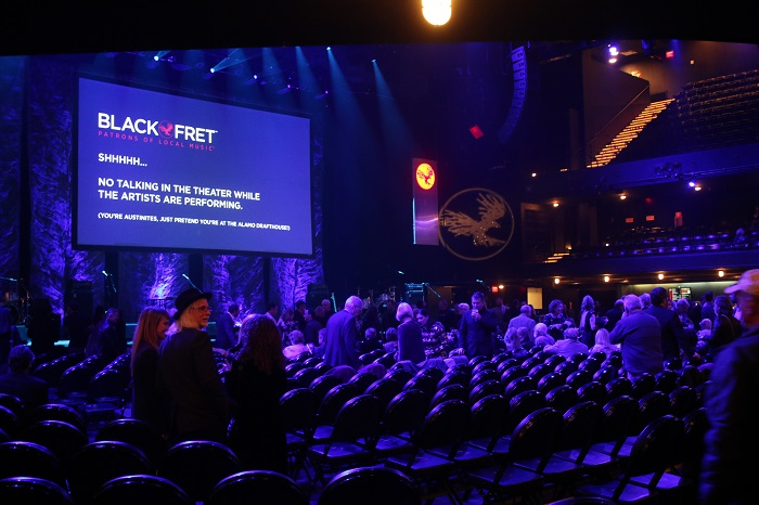 Moody Theater During Black Fret Black Ball 2018