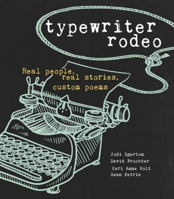 Typewriter Rodeo's book of custom poems