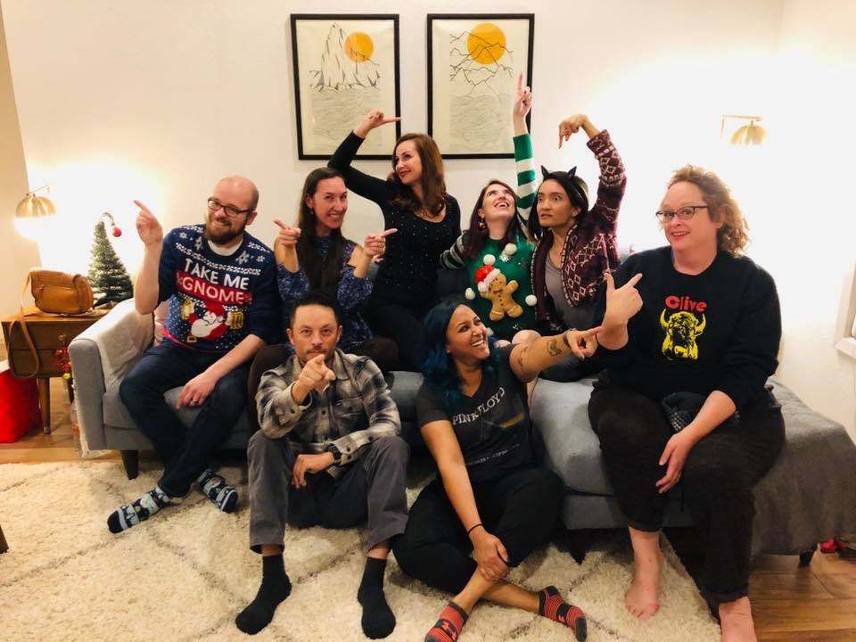 Austinot Blogger Christmas Party 2018