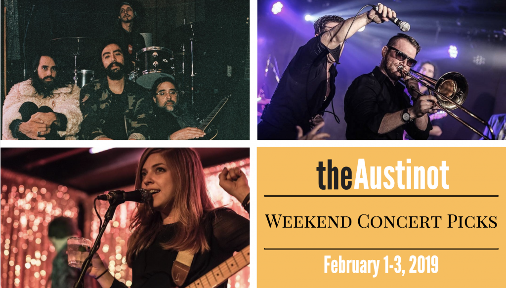 Austinot Weekend Concert Picks Feb 1