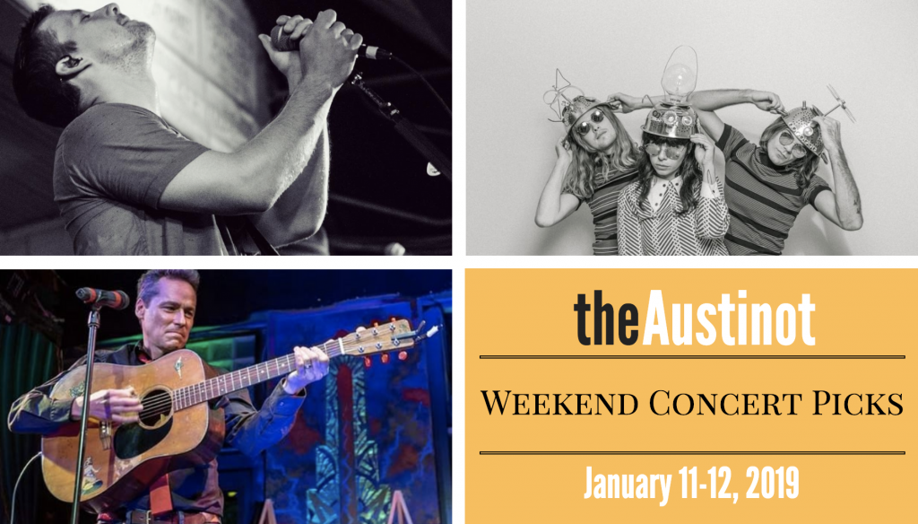 Austinot Weekend Concert Picks Jan 11-12 2019