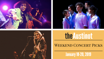 Austinot Weekend Concert Picks Jan 18