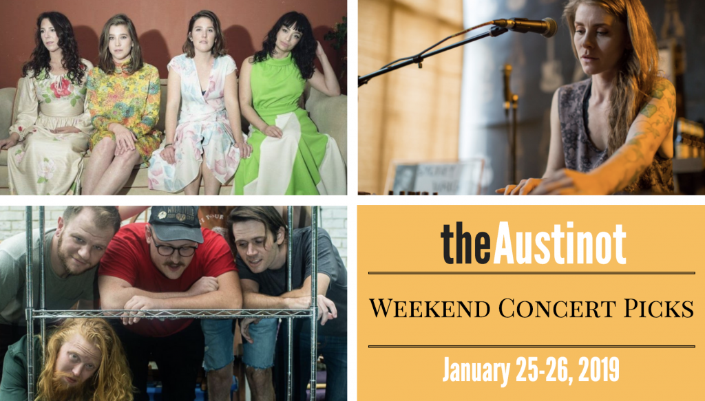 Austinot Weekend Concert Picks Jan 24