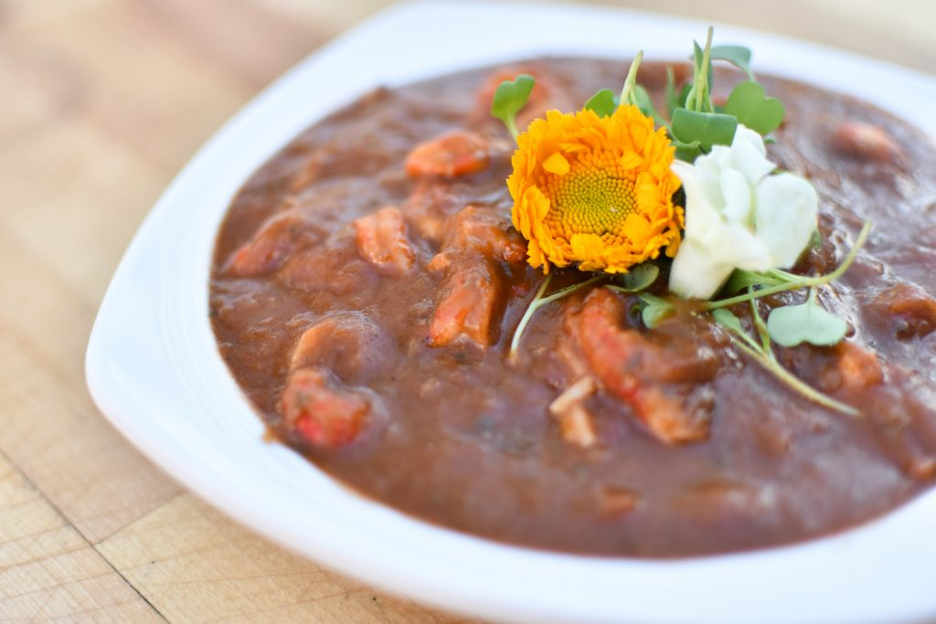 Crawfish Etouffee at Baton Creole Food Truck in Austin