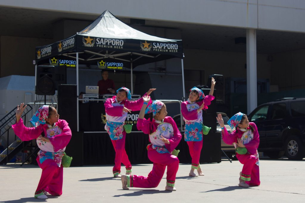 Far East Fest dance and martial arts performances in Austin