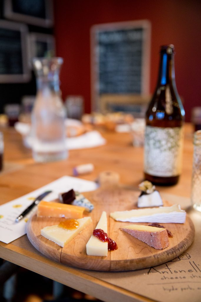 Wine Jam Cheese Pairing at Antonelli's
