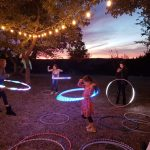 Flow Arts and Hula Hooping Event in Austin