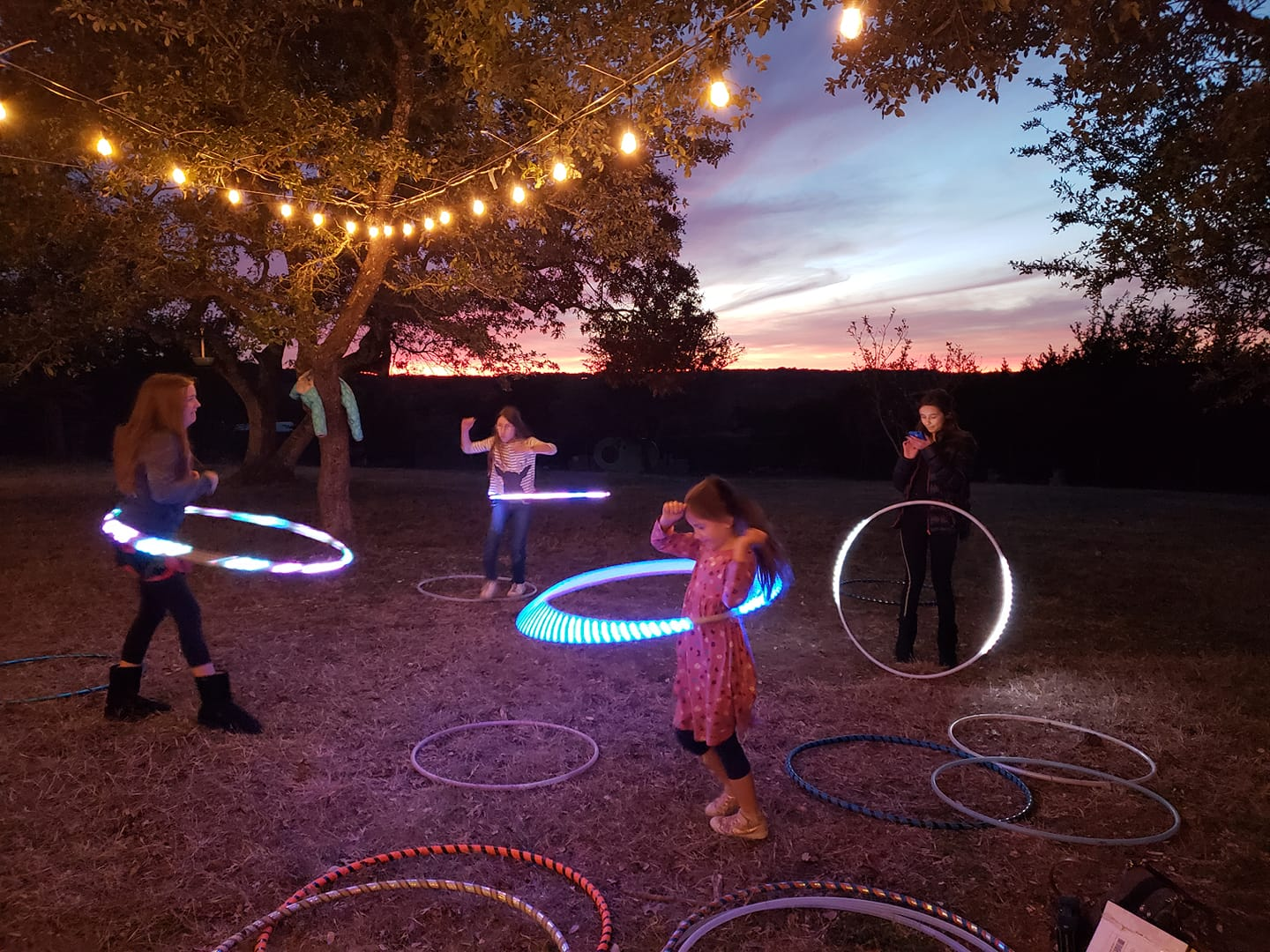 Hula Hooping and Flow Arts in Austin