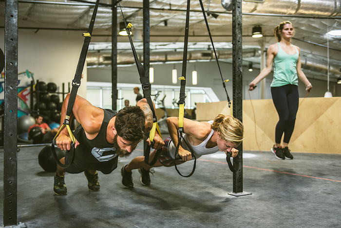 TRX and HIIT at Crux Climbing Center Austin