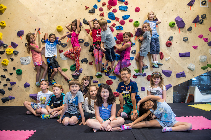 Crux Climbing Parties for Kids in Austin