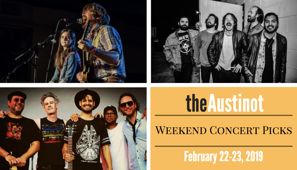 Austinot Weekend Concert Picks Feb 22