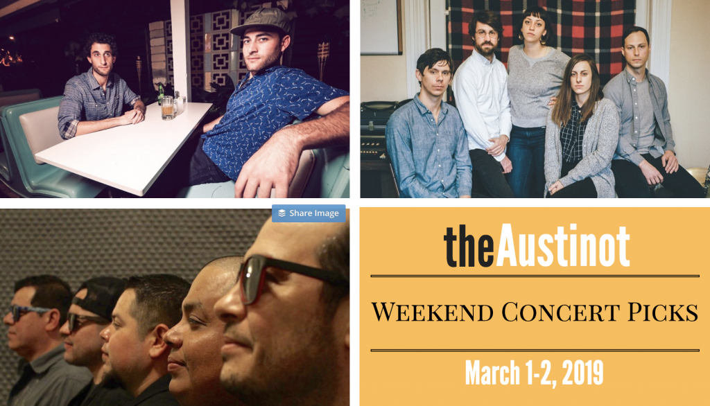 Austinot Weekend Concert Picks March 1