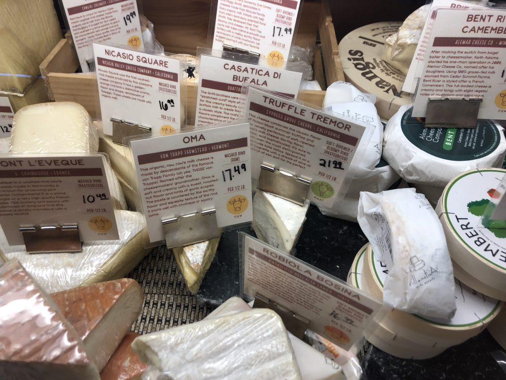 Specialty Cheese at Antonelli's in Austin TX