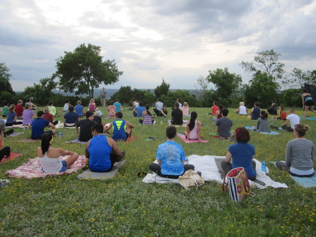 Free Full Moon Yoga in Austin