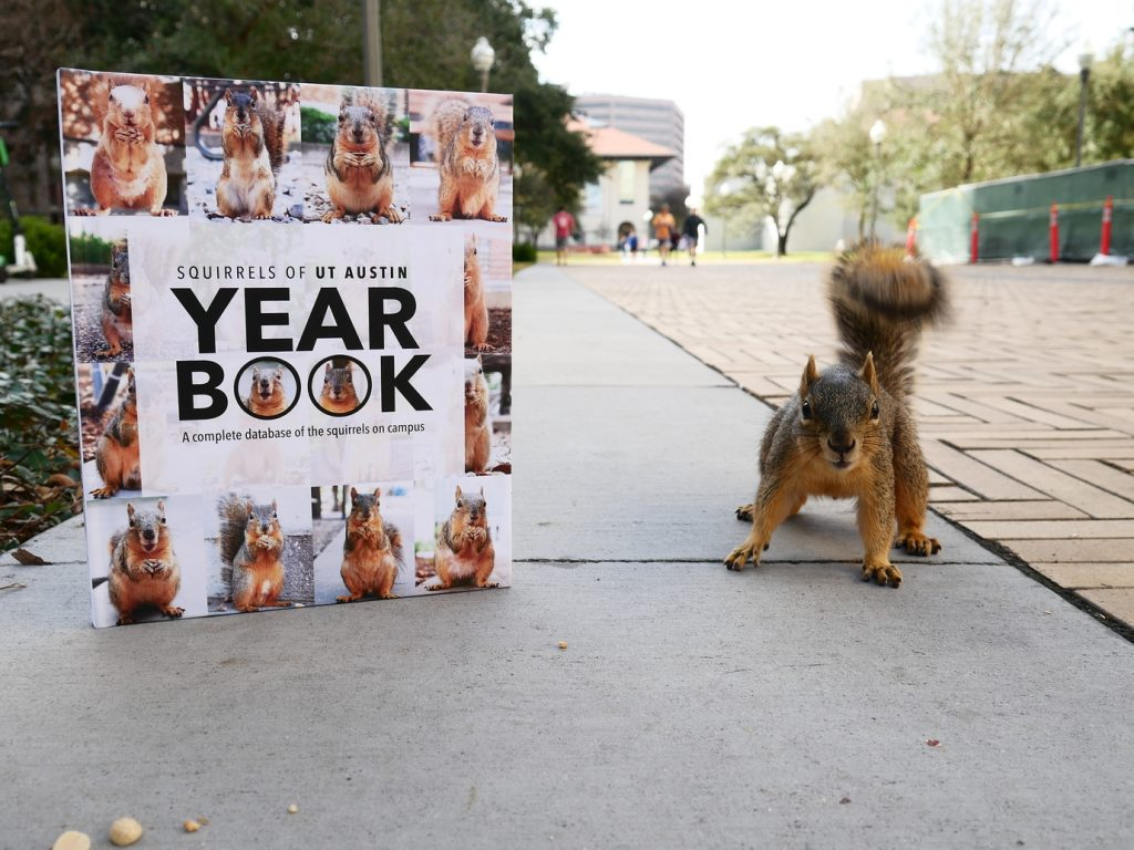Squirrels of UT Austin Yearbook
