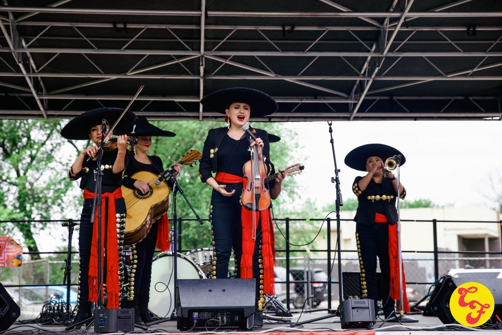 Mariachi Las Coronelas at Chingona Fest Texas