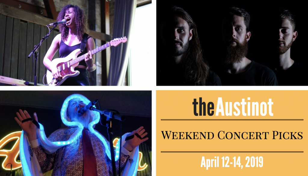 Austinot Weekend Concert Picks April 12