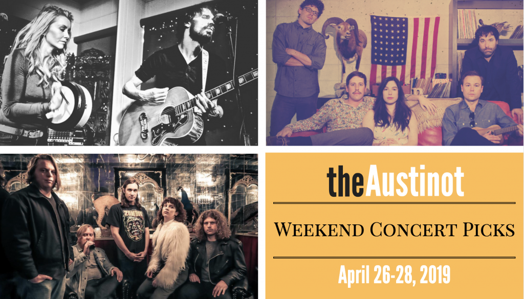 Austinot Weekend Concert Picks April 26