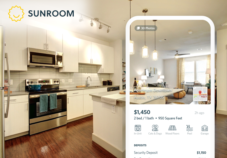 Sunroom App for Renting