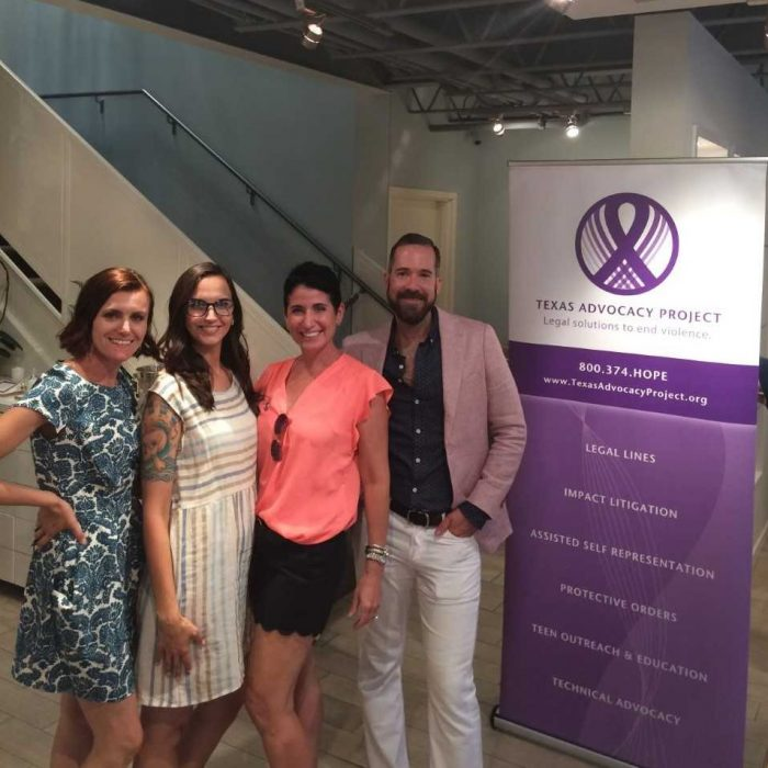 Texas Advoacy Project at Kendra Gives Back event
