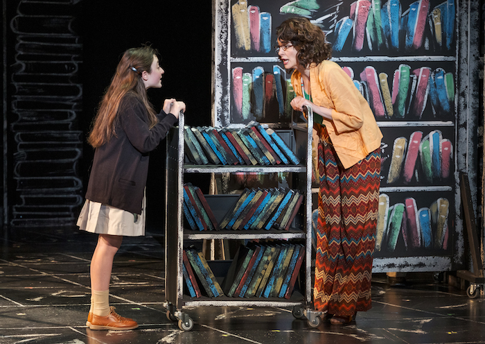 Quirky Librarian Matilda The Musical