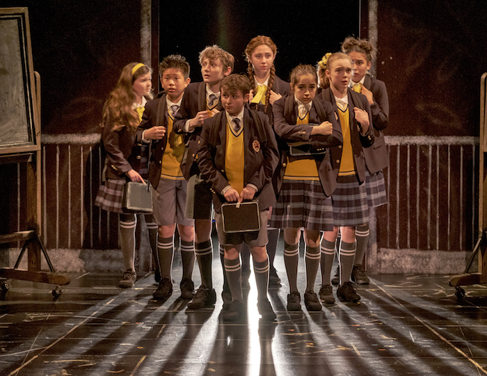 Matilda The Musical Young Cast in Austin