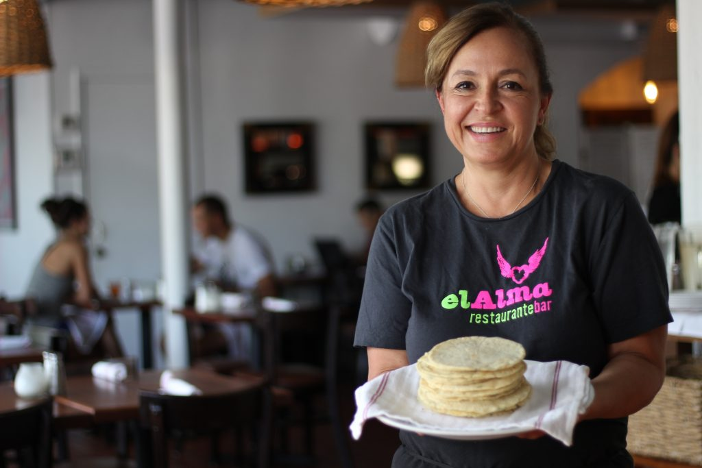 Homemade Tortillas El Alma Austin