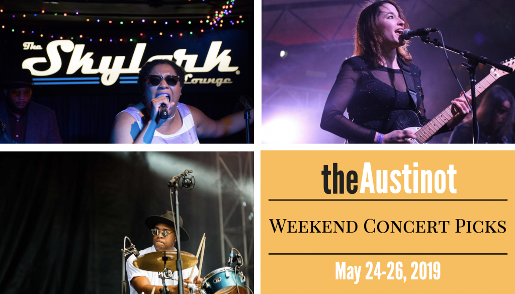 Austinot Weekend Concert Picks May 24