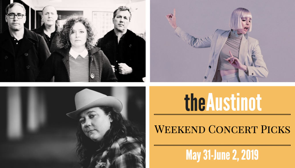 Austinot Weekend Concert Picks May 31