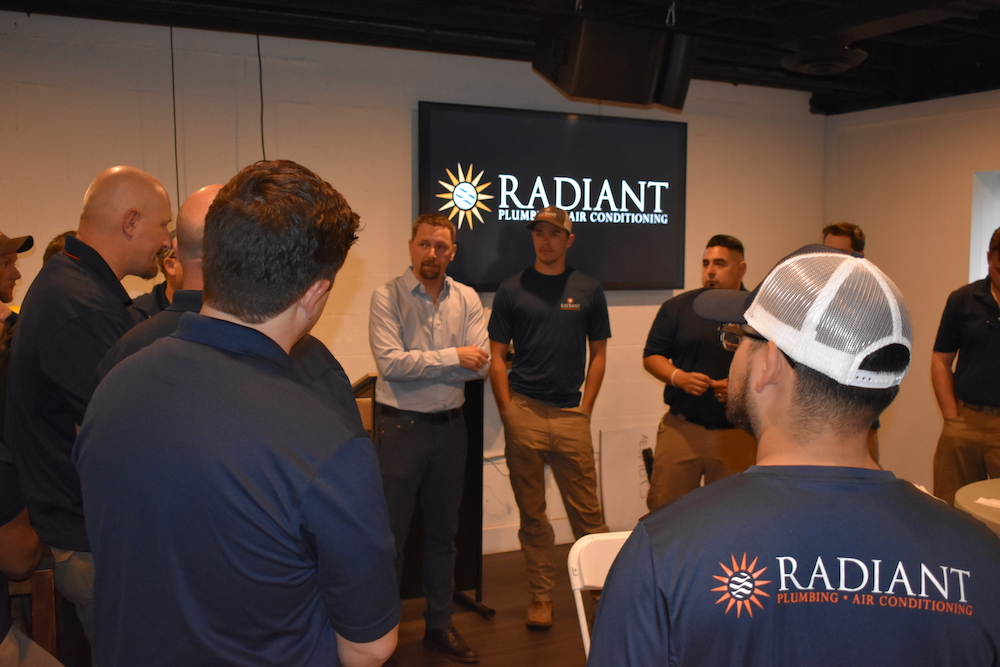 Brad Casebier CEO of Radiant Plumbing & Air Conditioning