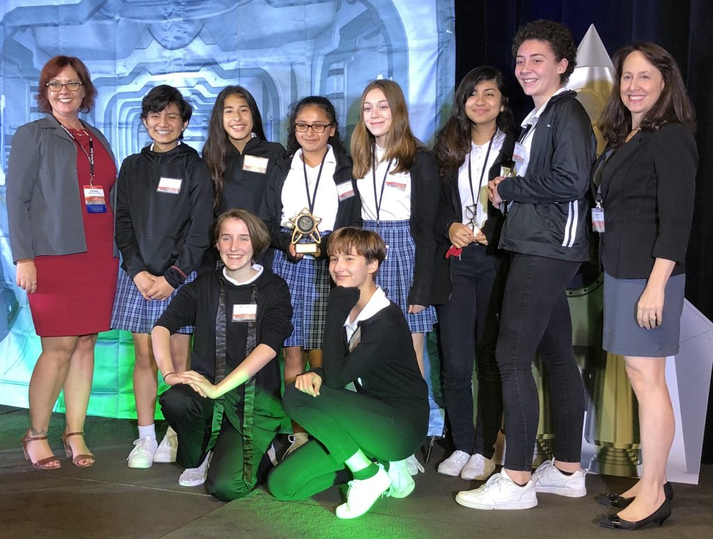 Winners of City in Space Competition