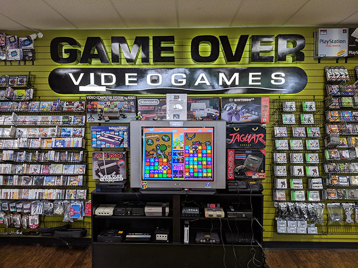 Game Over Videogames Austin