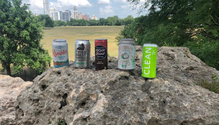 Canned Beverages From Austin Companies
