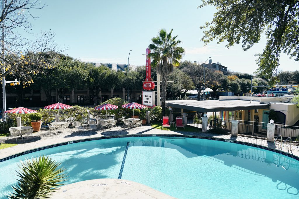 Austin Motel Pool Pass for non-guests