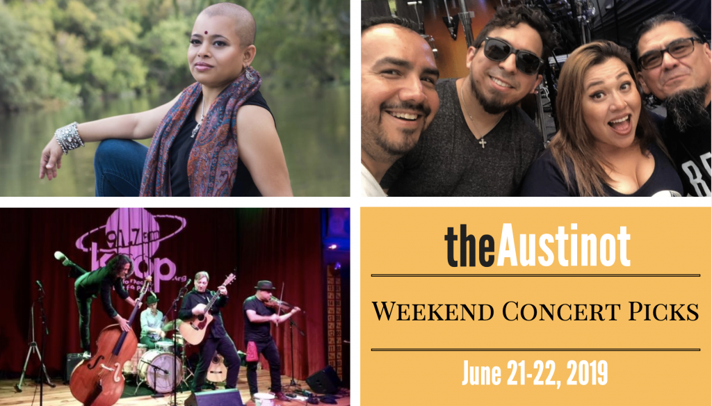 Austinot Weekend Concert Picks June 21