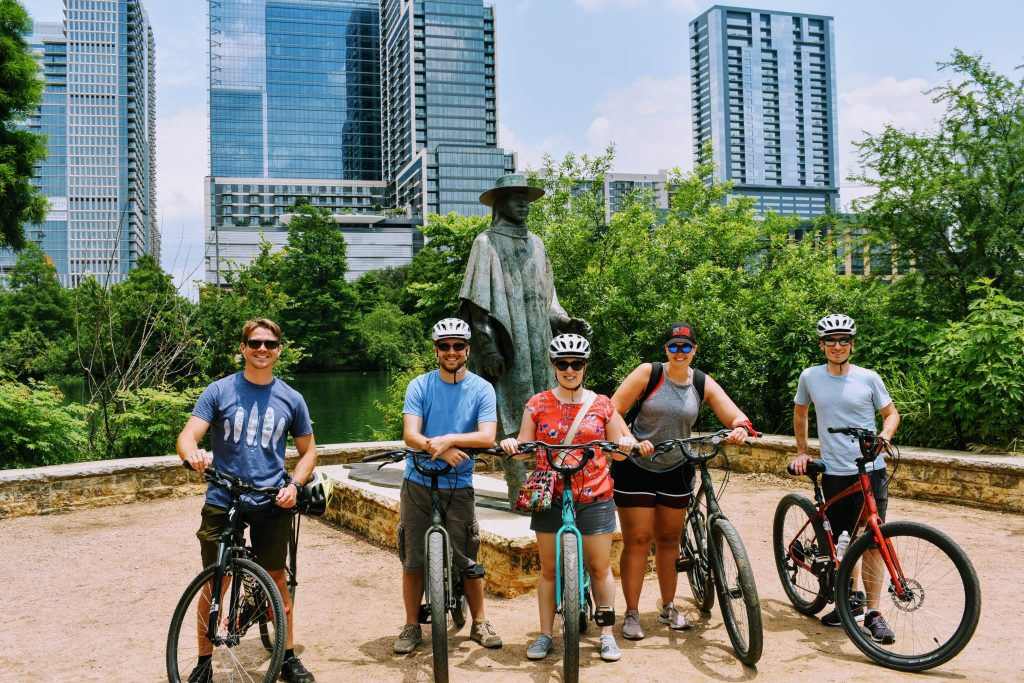Frontera Tours Bike and BBQ tour of Austin