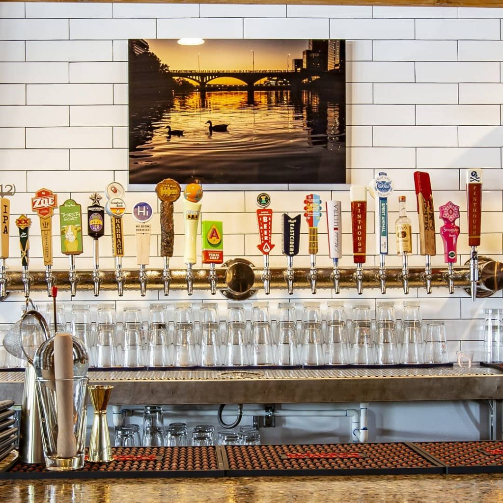 Big Beer Tap Selection at Revelry on the Boulevard Austin