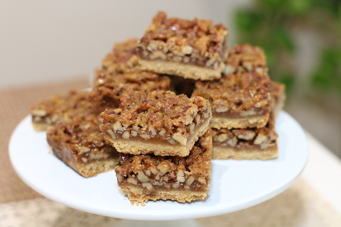Maple Pecan Bar by baker Basilflower Patisserie