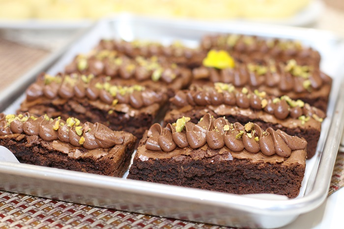 Turkish Coffee Brownie from Basilflower Patisserie in Austin