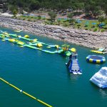 Floating Obstacle Course on Lake Travis at Waterloo Adventures