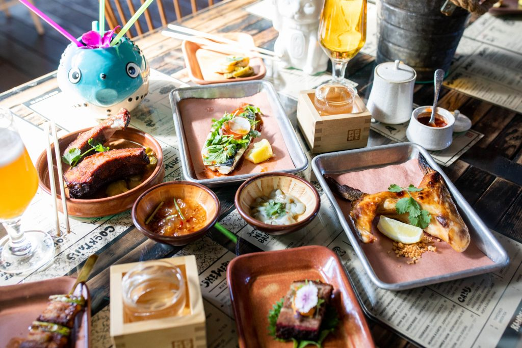 Kemuri Tatsu-ya is a Texas smokehouse and Japanese izakaya fusion in Austin